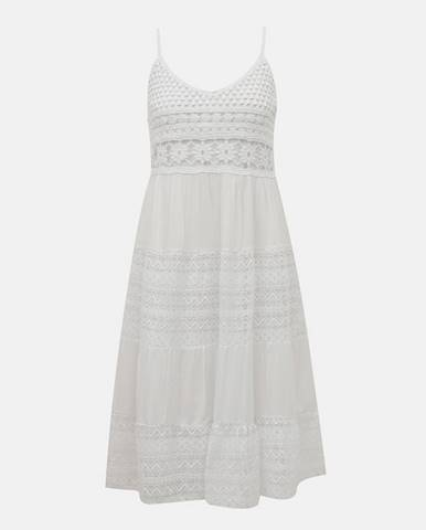 Biele šaty Haily´s