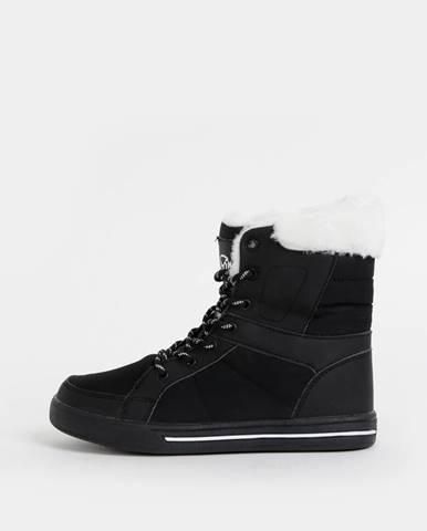 Čierne zimná obuv SAM 73