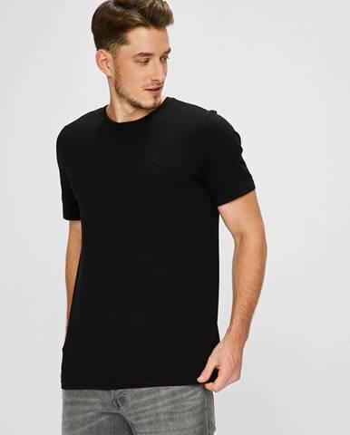 Čierne tričko Mustang
