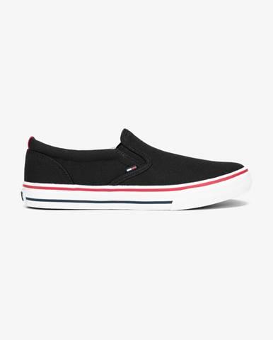 Čierne espadrilky Tommy Jeans