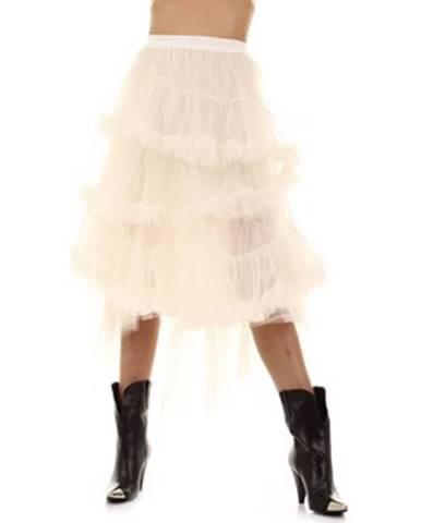 Biela sukňa Aniye By
