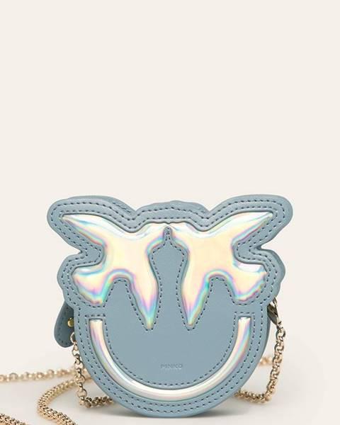 Modrá peňaženka Pinko