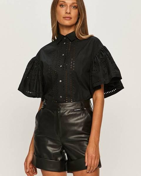 Čierna košeľa Karl Lagerfeld