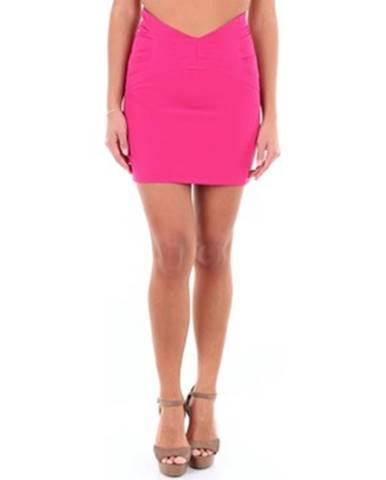 Fialová sukňa Actualee