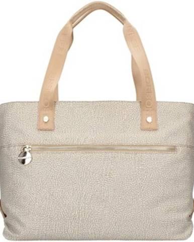 Béžová kabelka Borbonese