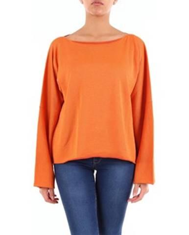 Oranžový sveter Mm6 Maison Margiela