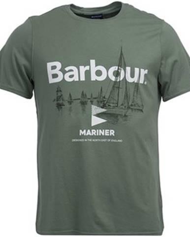 Zelené tričko Barbour