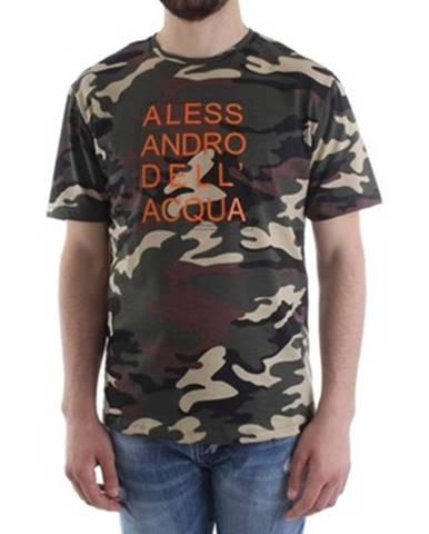 Zelené tričko Alessandro Dell'acqua