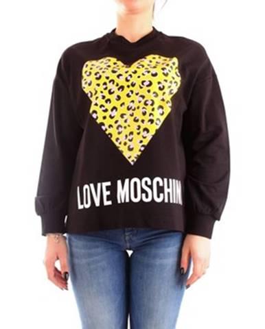 Čierny sveter Love Moschino