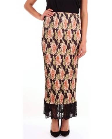 Viacfarebná sukňa Paco Rabanne