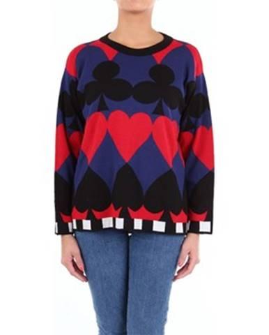 Viacfarebný sveter Moschino