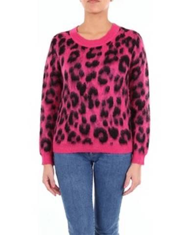 Fialový sveter Moschino