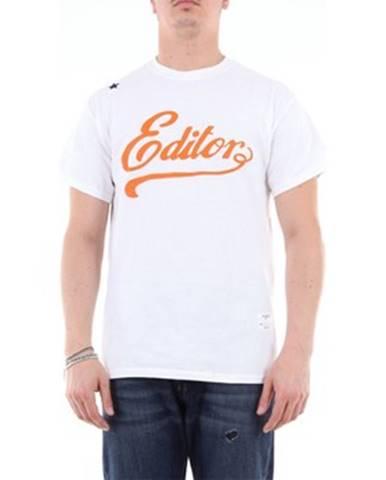 Biele tričko The Editor