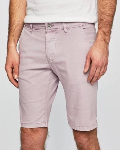 Fialové kraťasy Pepe jeans
