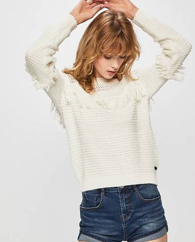 Biely sveter Pepe jeans