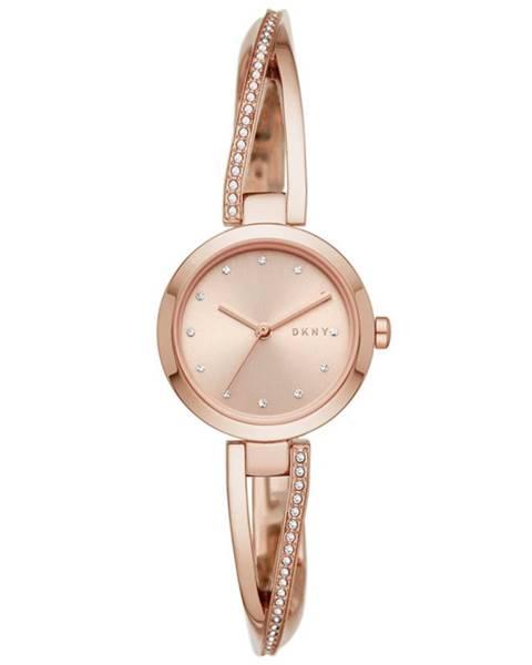 Zlaté hodinky DKNY