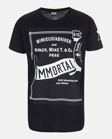 Čierne tričko Smack