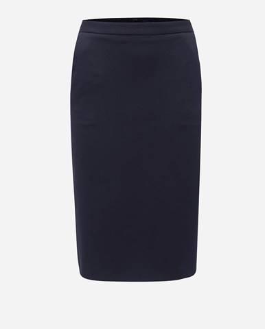 Tmavomodrá sukňa Gant