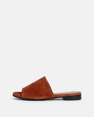 Tehlové papuče Selected Femme