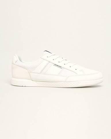 Biele topánky Jack & Jones