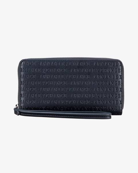 Modrá peňaženka Armani Exchange