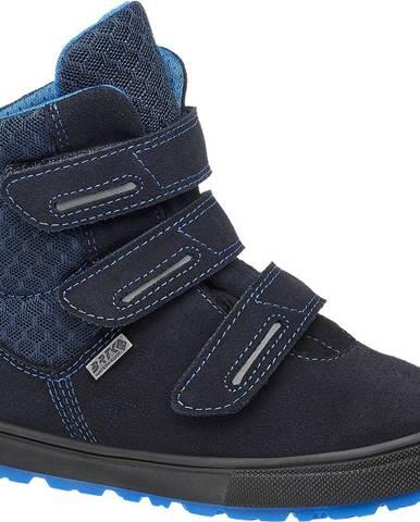 Tmavomodré zimná obuv Bartek