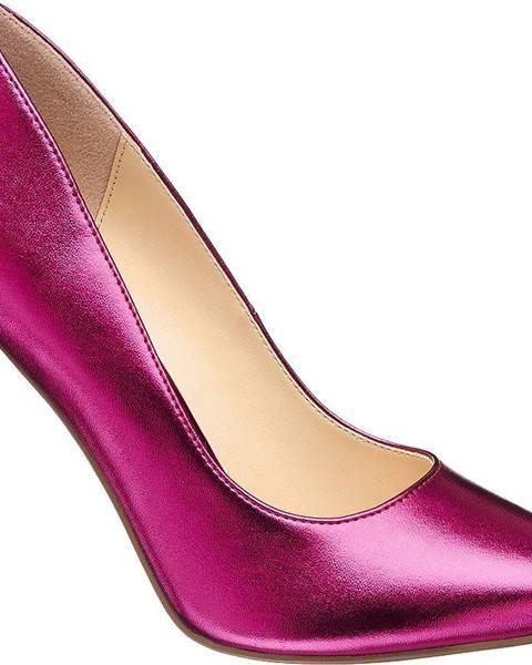 Ružové lodičky Catwalk