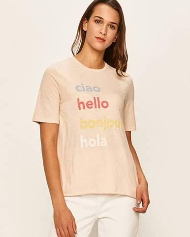 Ružové tričko Only
