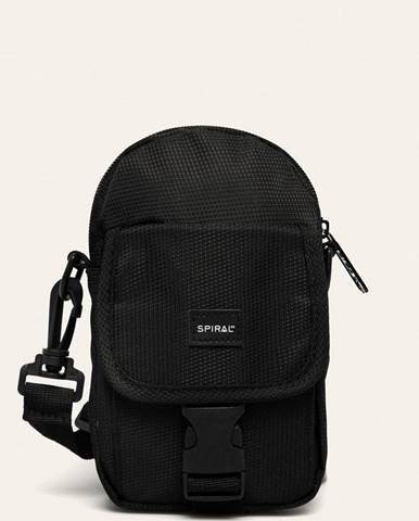 Čierna kabelka Spiral