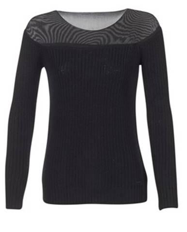Čierny sveter Armani jeans