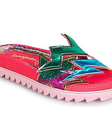 Ružové papuče Irregular Choice