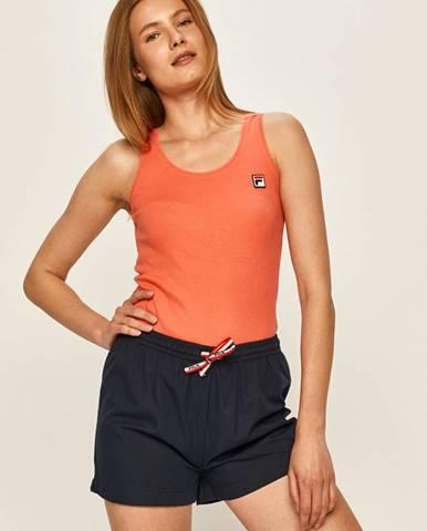 Oranžové pyžamo Fila