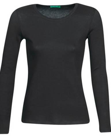 Čierne tričko Benetton
