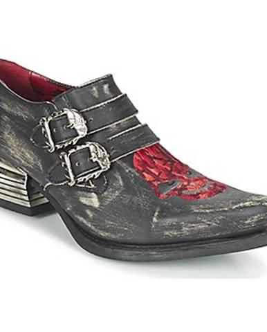 Čierne topánky New Rock