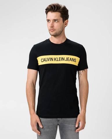 Čierne tričko Calvin Klein