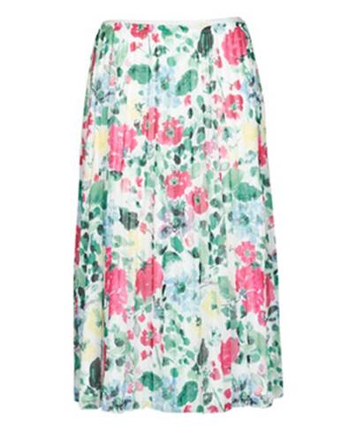 Viacfarebná sukňa Only