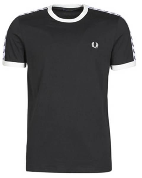 Čierne tričko Fred Perry
